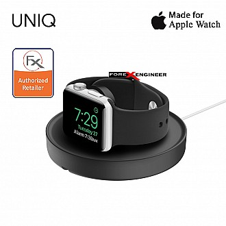 UNIQ Dome Charging Dock for Apple Watch - With Dual Stand Mode - Black (Barcode : 8886463663387)