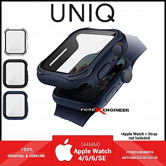 UNIQ TORRES Watch Case with 9H Tempered Glass for Apple Watch Series SE / 6 / 5 / 4 ( 44mm) - Blue (Barcode: 8886463676325 )