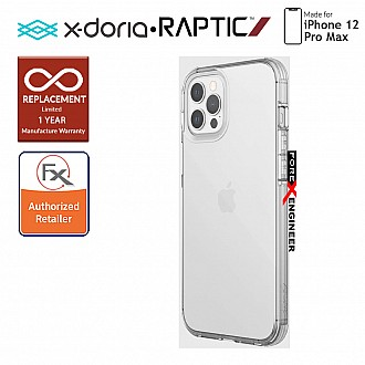 """X-Doria Raptic Clear for iPhone 12 Pro Max 5G 6.7"""" - Clear (Barcode: 490139)"""