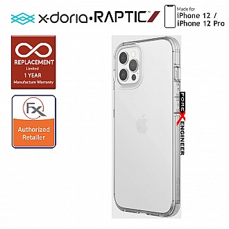 """X-Doria Raptic Clear for iPhone 12 / 12 Pro 5G 6.1"""" - Clear (Barcode: 6950941490061)"""