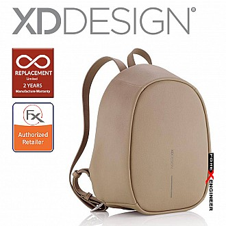 XD Design Bobby Elle - Anti-Theft Backpack - Brown (Barcode : 8714612111611)