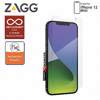 """InvisibleShield Glass Elite+ for iPhone 12 Mini 5G 5.4"""" - Clear (Barcode: 840056131750)"""