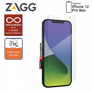 """InvisibleShield Glass Elite VisionGuard+ for iPhone 12 Pro Max 5G 6.7"""" - Clear (Barcode: 840056131804)"""