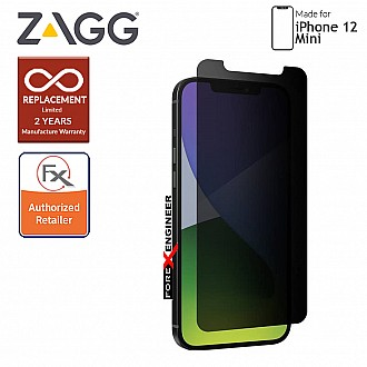 """InvisibleShield Glass Elite Privacy+ for iPhone 12 Mini 5G 5.4"""" (Barcode: 840056131811)"""