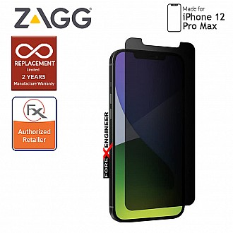 """InvisibleShield Glass Elite Privacy+ for iPhone 12 Pro Max 5G 6.7"""" (Barcode: 840056131835)"""