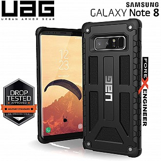 UAG Monarch for Samsung Galaxy Note 8 Feather-Light Rugged & Military Drop Tested - Black