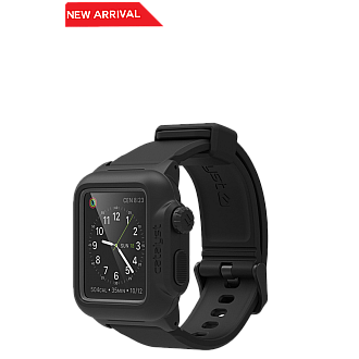 Catalyst for APPLE WATCH 42MM (Fit Series 1) waterproof shockproof dustproof case - black color