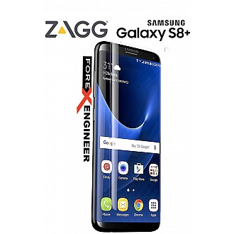 ZAGG Invisible Glass Curve for Samsung Galaxy S8 Plus (S8+) tempered Glass specially built for curved screen - transparent