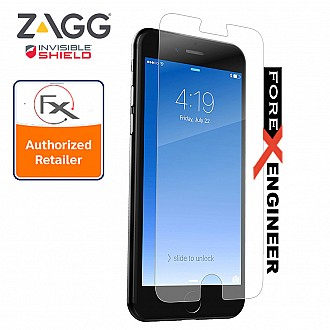 ZAGG InvisibleShield Glass+ Tempered Glass Screen Protector for Apple iPhone 6 / 6S / 7 / 8 - Crystal Clear