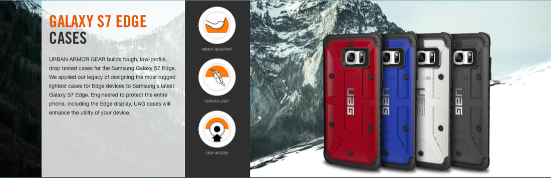 UAG for Samsung Galaxy S7 Edge