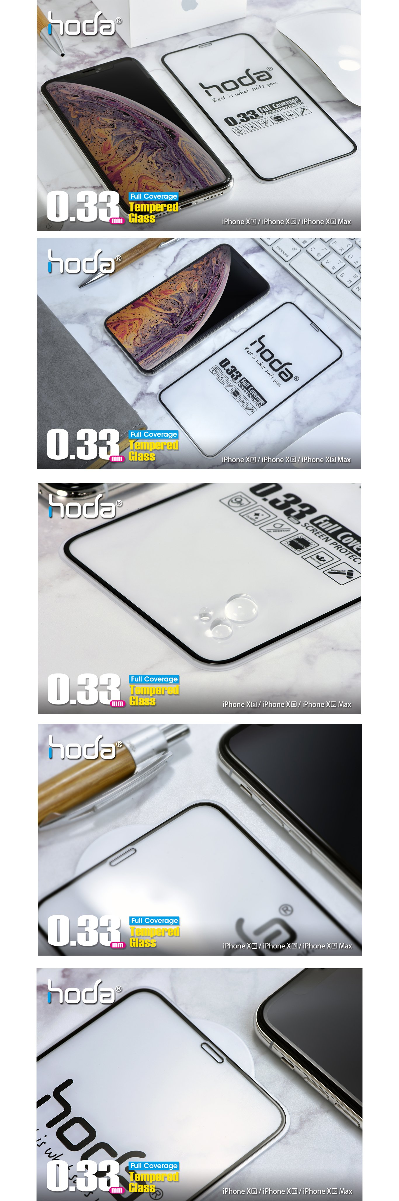 hoda-full-coverage-2.5D-0.33mm-iphone-xs-max-clear-malaysia-authorised-retailer-overview
