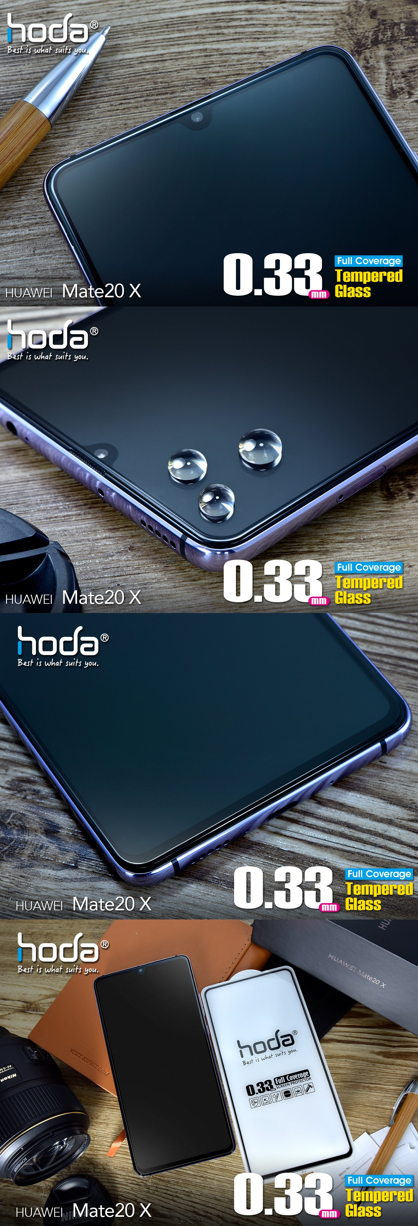 hoda-full-coverage-2.5D-0.33mm-huawei-mate-20-x-clear-malaysia-authorised-retailer-overview