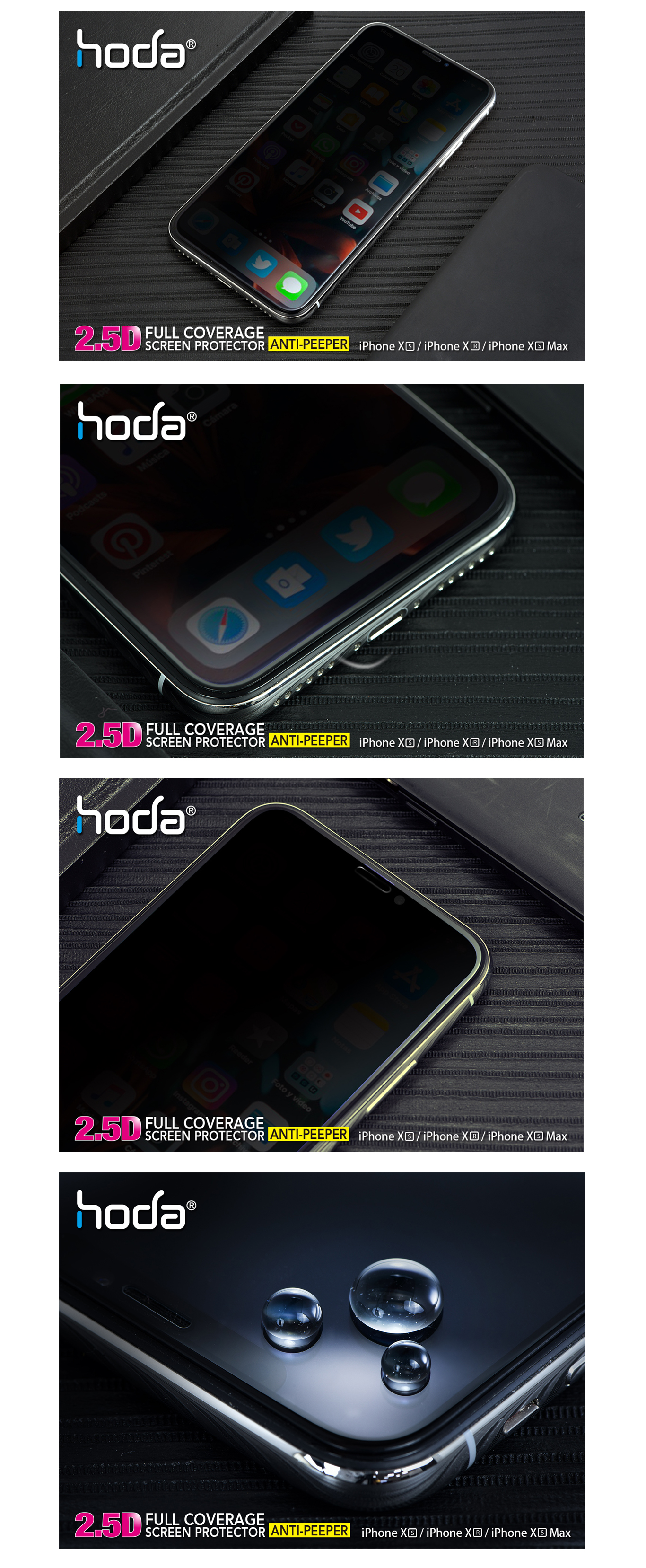 hoda-full-coverage-2.5D-0.33mm-iphone-xs-max-anti-peeper-malaysia-authorised-retailer-overview