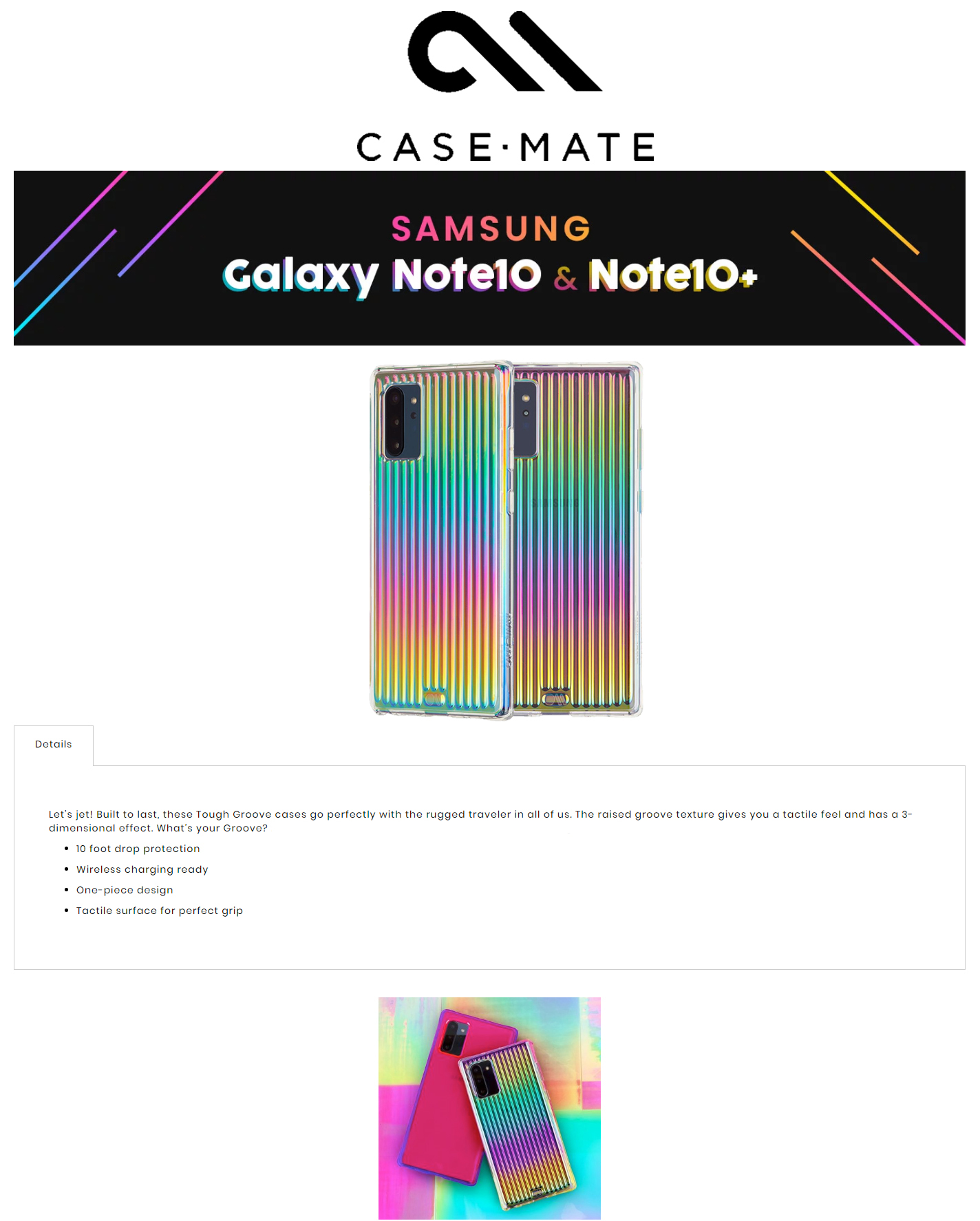 /Otterbox/846127186261/1-DES-fx-case-mate-tough-groove-samsung-galaxy-note-10-plus-iridiscent-846127186261-forexengineer-malaysia-authorised-retailer