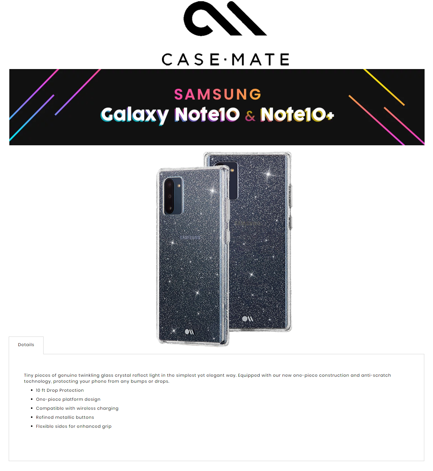 /Otterbox/846127186100/1-SDES-fx-case-mate-sheer-crystal-samsung-galaxy-note-10-clear-color-forexengineer-authorised-malaysia-retailer