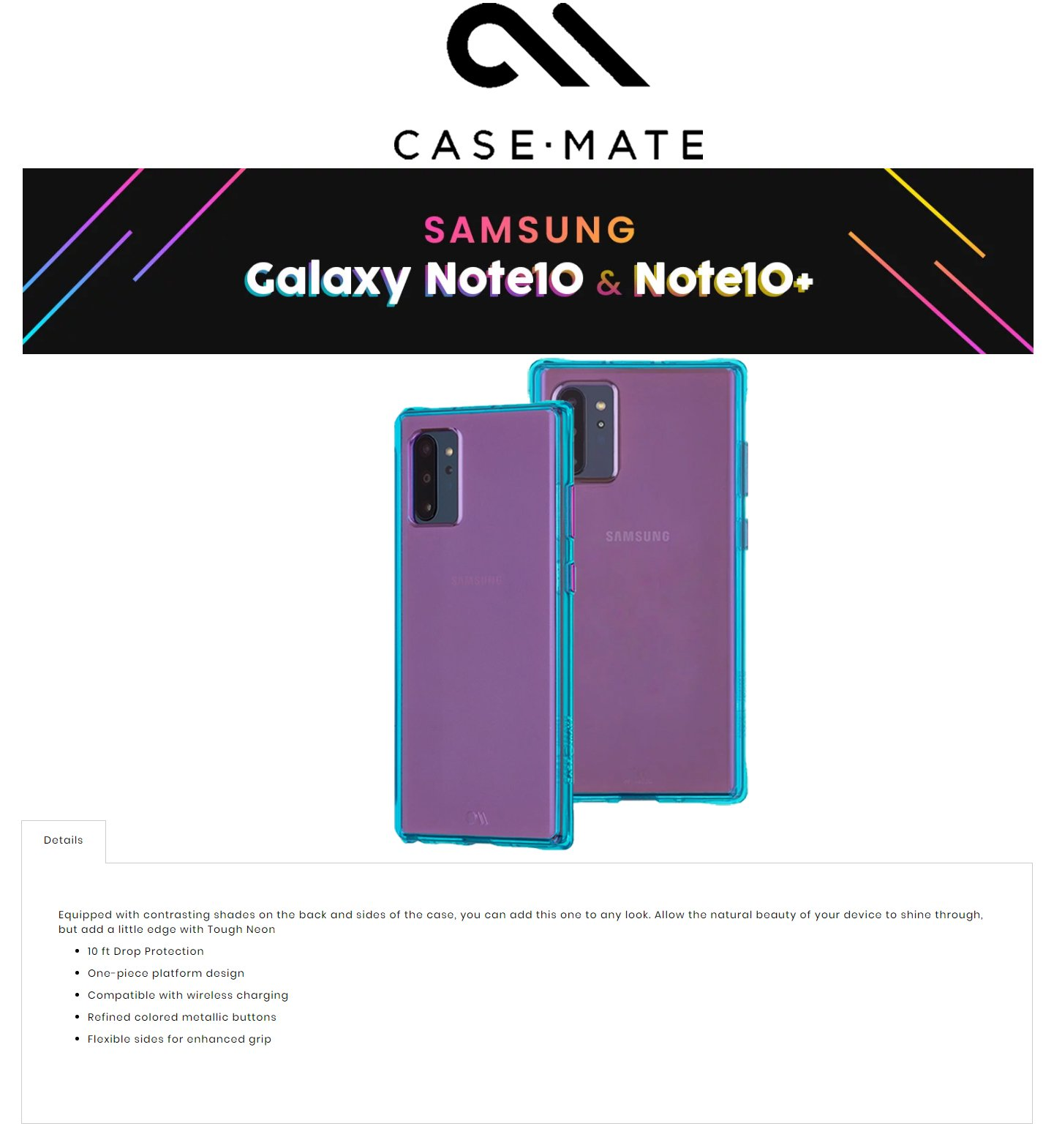 /Otterbox/846127186933/1-DES-fx-case-mate-tough-neon-samsung-galaxy-note-10-plus-purple-turquoise-color-846127186902-forexengineer-authorised-malaysia-retailer