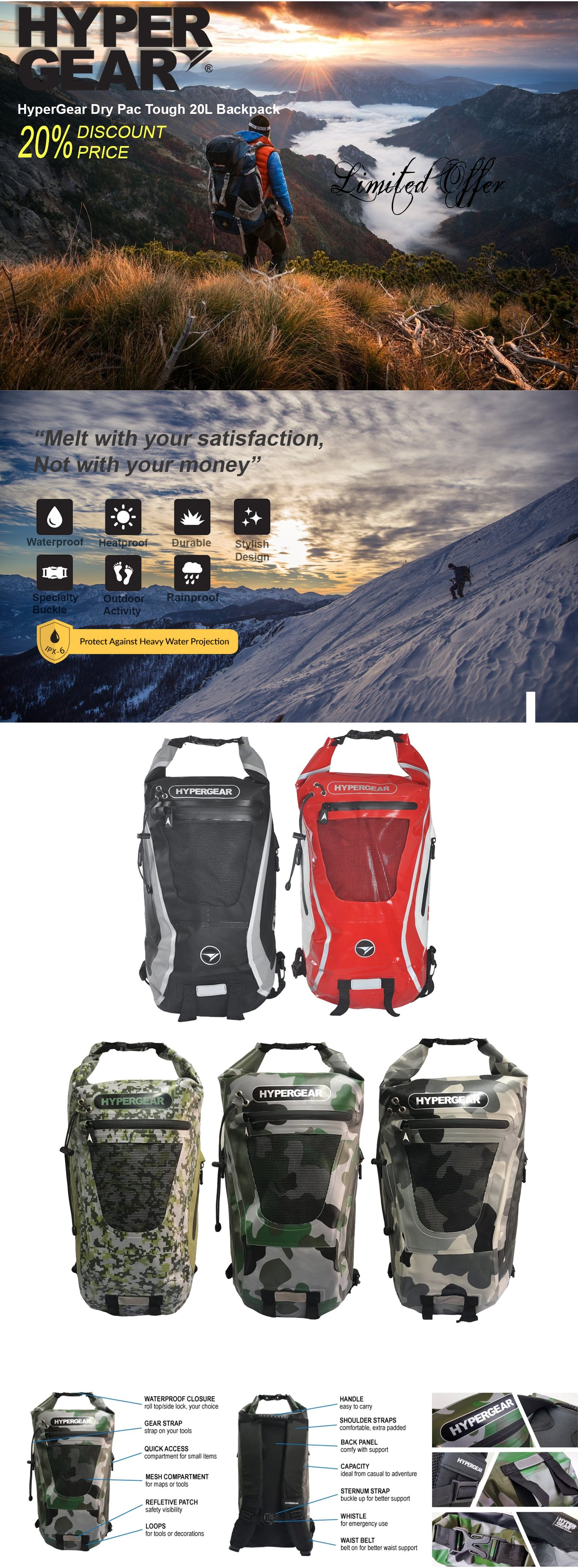 1-des-hypergear-dry-pac-tough-20L-backpack-forexengineer-authorised-retailer